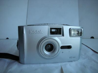 较新柯达EC100定焦镜头自动曝光相机,收藏使用