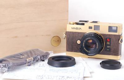 美能达 CLE+40/2 徕卡M口镀金限量版带木盒#jp19878
