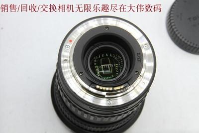 新到 98成新 图丽11-16 2.8 广角镜头 佳能口 可交换 编号0069