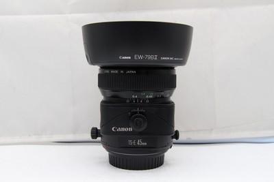 96新二手Canon佳能 45/2.8 TS-E 移轴镜头(SZ00828)深