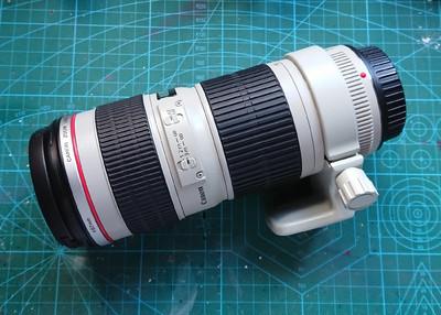 佳能 EF 70-200mm f/4L USM(小小白) 95新 送脚架环
