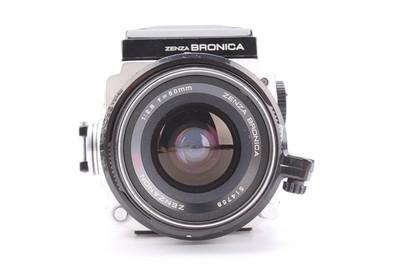 92新二手勃朗尼卡-ETR中画幅胶卷相机+50/2.8镜头(T000829)京