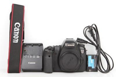 80新二手Canon佳能 6D 单机 高端单反相机(B97534)京