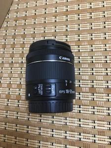 全新原装佳能变焦镜头EF-S 18-55mm f/3.5-5.6 IS STM