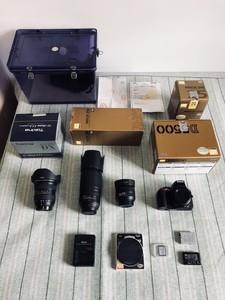 尼康 D5500 + 3个镜头 全套包邮也可以单买