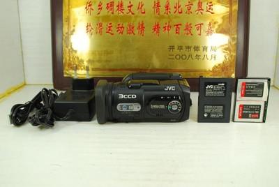 95新 JVC 杰伟世 GZ-MC500AC 数码摄像机 闪存摄像机3CCD