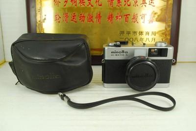 美能达 HI-MATIC G 135胶卷机械旁轴相机 胶片机 收藏模型道具