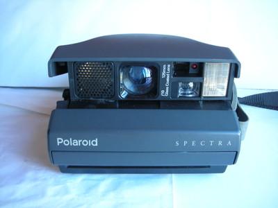 较新宝丽来SPECTRA一次成像相机,收藏使用