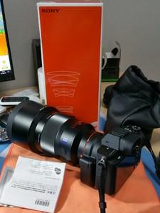索尼135 1.8za,带包装盒,镜片完美无霉