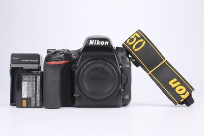 95新二手Nikon尼康 D750 单机 快门15156次(095510津)