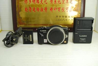 松下 GF3 微单 单电数码相机 千万像素全高清摄像 触摸屏