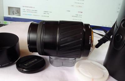 1个挺新的索尼A口(美能达原厂AF自动)100F2.8微距带崭新皮筒