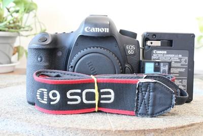 90新二手Canon佳能 6D 单机 高端单反相机 000626武