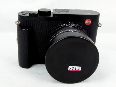 华瑞摄影器材-包装齐全的徕卡 Q黑色带手柄
