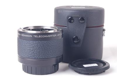 柯尼卡 HEXANON Teleconverter 2X AR带皮桶jp20173