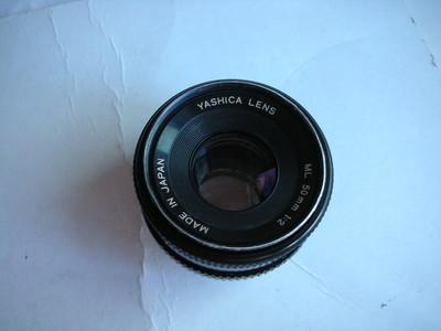 较新雅西卡50mmf2镜头