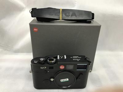 徕卡 Leica M7 0.72 胶片旁轴黑色相机