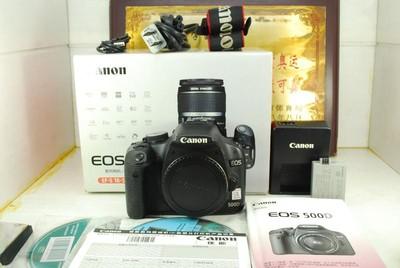 佳能 500D 数码单反相机 千万像素 入门练手 选配镜头 可置换