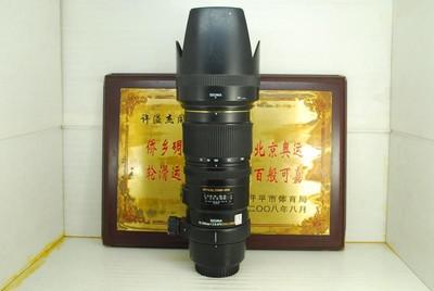 佳能口 适马 70-200 F2.8 OS HSM 小黑五代 单反镜头 防抖长焦