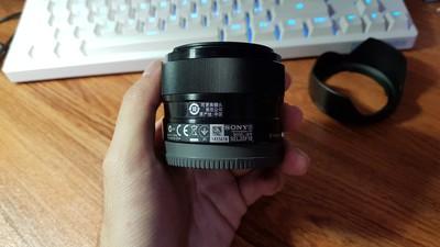 索尼 E 35mm f/1.8 OSS(SEL35F18)9.9成新
