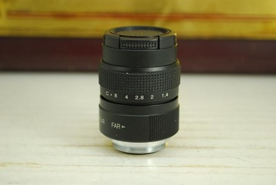C口 CCTV 25mm F1.4 TV LENS 电影镜头 大光圈定焦 转接微单