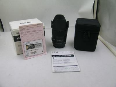 出售 99新 适马 35mm f/1.4 DG HSM(A) 包装齐全 请看图片
