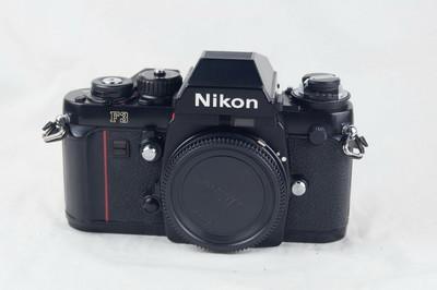 尼康 Nikon F3带MF-14后背 收藏好成色