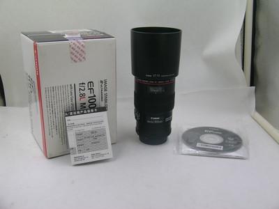 出售 99新 佳能 100mm f/2.8L IS USM 微距 包装齐全 请看图片