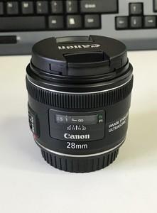 佳能新款防抖全画幅镜头 EF 28mm f/2.8 IS USM 特价出