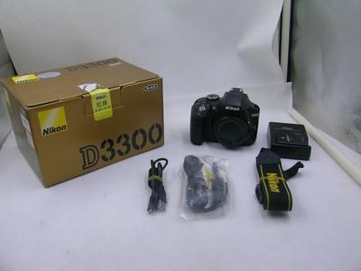 出售 95新 尼康 D3300 机身 包装齐全 请看图片