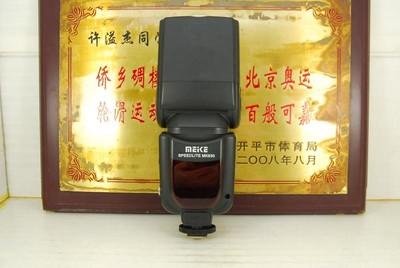 95新 美科 MK930 通用型 闪光灯 外置机顶灯 单触点 佳能尼康单反