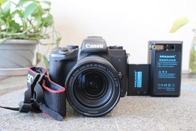 95新二手Canon佳能 M5 套(18-150)微单相机 000746 101865津