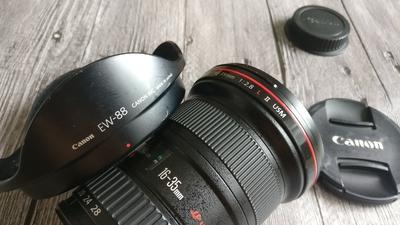 佳能 EF 16-35mm f/2.8L II USM二代大三元广角  ub 自用