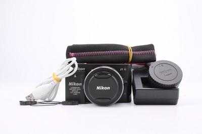 93新二手Nikon尼康 J1套(10-30)微单相机 015348成
