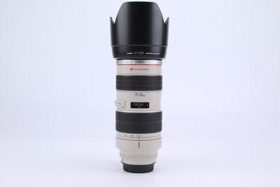 93新二手Canon佳能 70-200/2.8 L 小白变焦镜头 089072京
