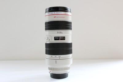 93新二手Canon佳能 70-200/2.8 L 小白变焦镜头 375104成