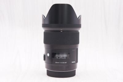 95新 适马 35mm f/1.4 DG 佳能口镜头 35/1.4