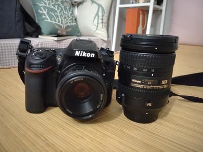 急出一台尼康 D7200套机+尼康50mm 1.8D镜头半画幅相机