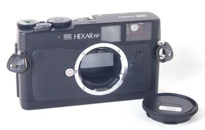 柯尼卡Hexar RF后期黑色机身Leica M口相机 jp19861