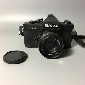 80年代经典/海鸥DF2单反胶片相机/58mmF2