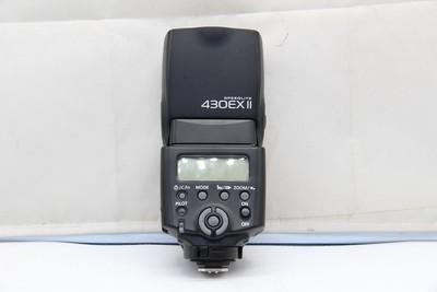 95新二手 Canon佳能 430EX II 闪光灯 二代 H50277深