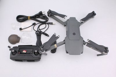 95新二手DJI大疆 御 Mavic Pro 无人机全能套装带卡在保 12009V津