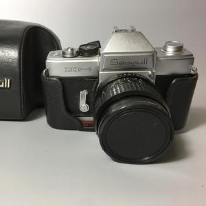 80年代经典海鸥DF1单反相机/镜头58mm-F2