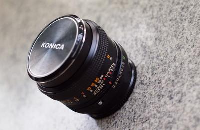 柯尼卡 Konica 50 1.4 EE版