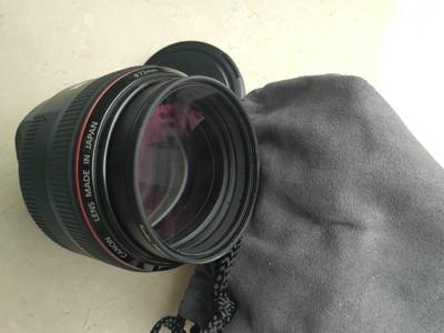 出售98新佳能 EF 85mm f/1.2 L II USM