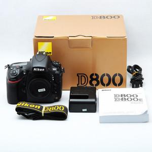 Nikon 尼康 D800 d800 带包装美品好成色
