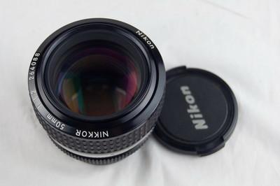 尼康AIS 50 1.2 镜头 好成色