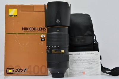 97新 尼康 AF-S80-400G VR带包装