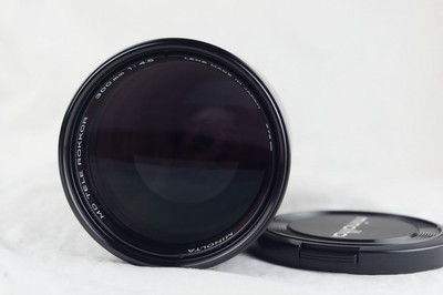 美能达MD 300 F4.5 镜头 近全新好成色