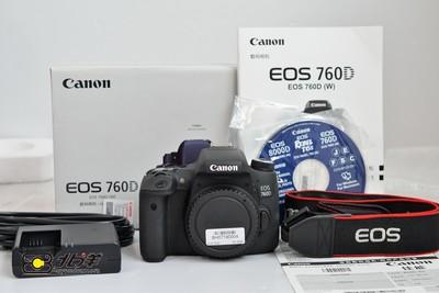 99新 佳能 760D大陆行货带包装(BH07190004)